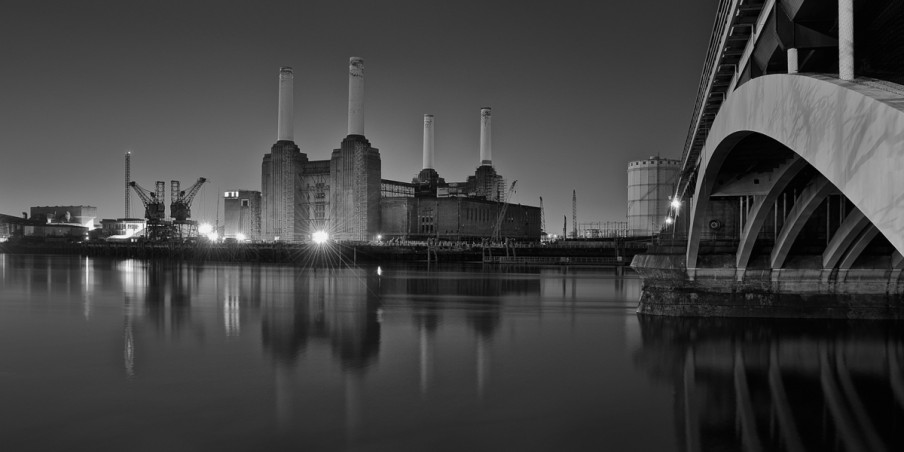 Battersea, London, Thames, Long, Exposure, Fine, Art, Photo, Photography, Reflection, Victoria, Bridge,