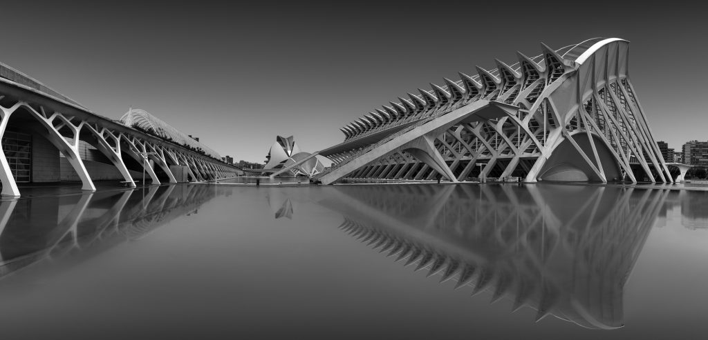 Valencia, architecture, long exposure, reflection, street, black and white,  cityscape, award, print, for sale, fine art, classy, limited edition, photography, photographer, artist, street,