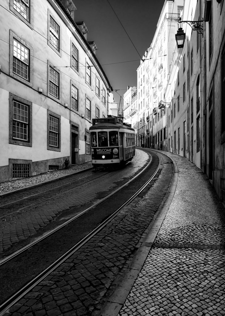 Lisbon, Lisboa, Portugal, Photography, Travel, Print, Sale, Limited, Edition, Street, Bridge, Long Exposure, Black and White, Monochrome, Fine Art, Photographer,